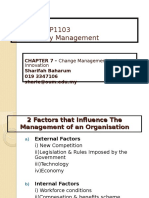 CHAPTER 7 Change Mgt 7 Inovation