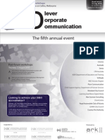 Clever Corporate Communication - The Fifth Annual Event