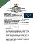 TB is Not a Crime Full Judgment-Kenya Judge Mumbi Ngugi