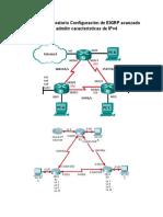 Práctica de Laboratorio Configuración de EIGRP Avanzado Para Admitir Características de IPv4