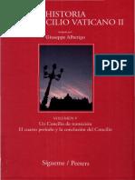 Alberigo Giuseppe Historia Del Concilio Vaticano II-05