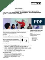 Continuing Education - Hilti Canada