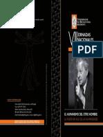 Plegable VII Jornadas Nacionales-Emmanuel Levinas