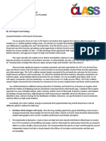 LCFF Report Card Findings and Recommendations Letter
