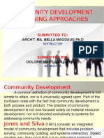 Community Development Planning approcaches