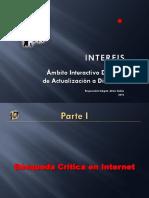 INTERFIS. BD01. I. Búsqueda Crítica en Internet. 2010