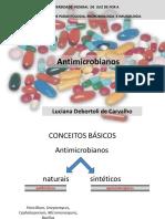 Testes in Vitro Dos Agentes Antimicrobianos