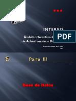 INTERFIS. BD03. III. Base de Datos. 2010