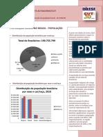 dados população negra no brasil