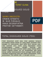 Total Dissolved Solid (TDS)