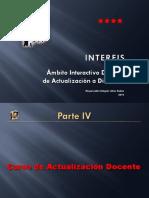 INTERFIS. BD04. IV. Curso de Actualización Docente. 2010