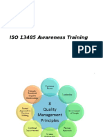 ISO 13485_2003 Awareness