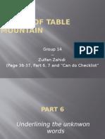 UNIT 7 Pg. 36-37 Part 6,7 Checklist