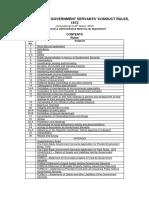 T_nadu Govt Servants Conduct Rules