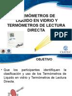 Termómetros de Liquido en Vidrio y Lectura Directa.ppt