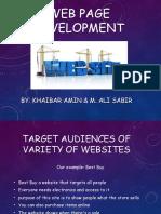 sabir ali web page development btt