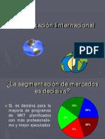 La Segmentacion Internacional