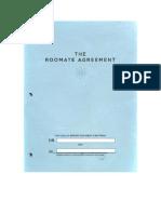 roommate agreement  1