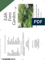 Folleto - Edible Forest Garden