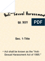 Anti Sexual Harassment