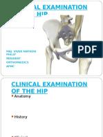 Clinical Hip Examination