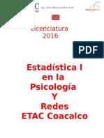 Apuntes Estadística I ETAC 2016