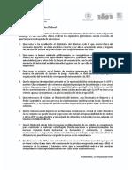 Comunicado Club Atlético Peñarol - 15 de Junio