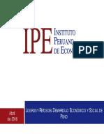 Foro Puno 2016 - Logros y Retos Del Desarrollo Economico y Social de Puno - Diego Macera