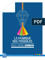La Fabrique Des Possibles Projet Fédéral 2014 2022