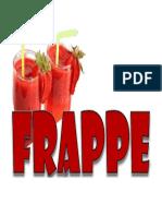 ANUNCIO FRAPPE