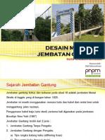 Manual Desain Jembatan Gantung