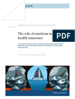The Role of Emotions in Buying Health Insurance