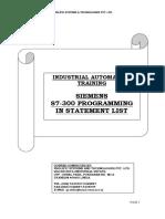 PLC Information