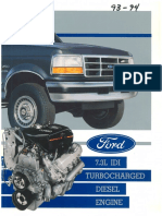 93 94 7.3 IDI Turbocharged Diesel Engine