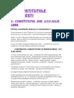 Constitutiile Romanesti 66, 23 , 38, ... 91