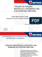 Projeto Pesquisa TCC I ROSE MARY