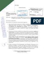 Carta notarial de  Juan Jashim Valdivieso Cerna a empresa al portal LaMula