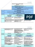 CERA-UK Conference 2016 Timetable