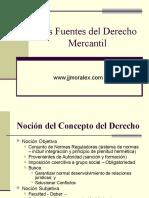 Las Fuentes Del Derecho Mercantil.154212415