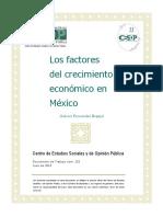 Factores Crecimiento Economico Mexico Docto153