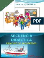 Secuencia Didáctica- PRINCIPIO DE ARQUIMEDES