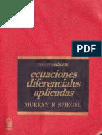 Ecuaciones Diferenciales Aplicadas a la Quimica- Murray