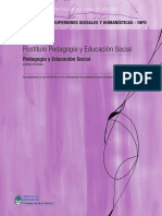 pedagogía social - Postitulo p. Social