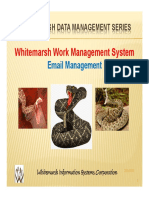 White Marsh Work Email Management