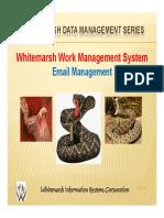 White Marsh Work Email Management