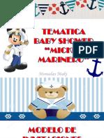 Tematica Mickey Marinero