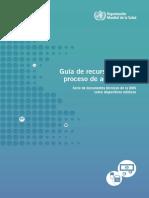 Guía de Recursos Para El Proceso de Adquisición