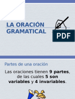 La Oración Gramatical