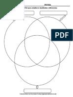 Triple-Venncomparar Similitud y Diferencias