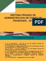 sistema privado de fondos de pensiones